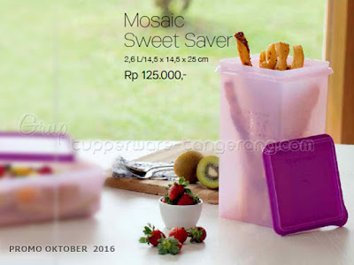 Mosaic Sweet Saver  ~ Tupperware Promo Oktober 2016