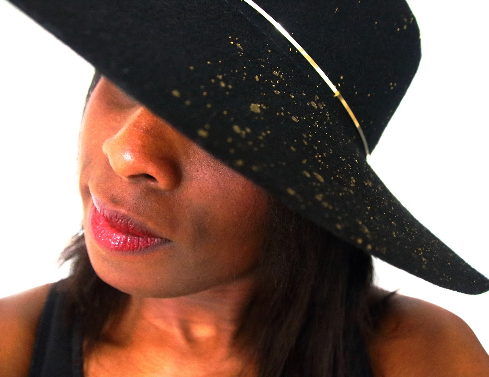 Designedlifeblog.blogspot.com Splatter hat