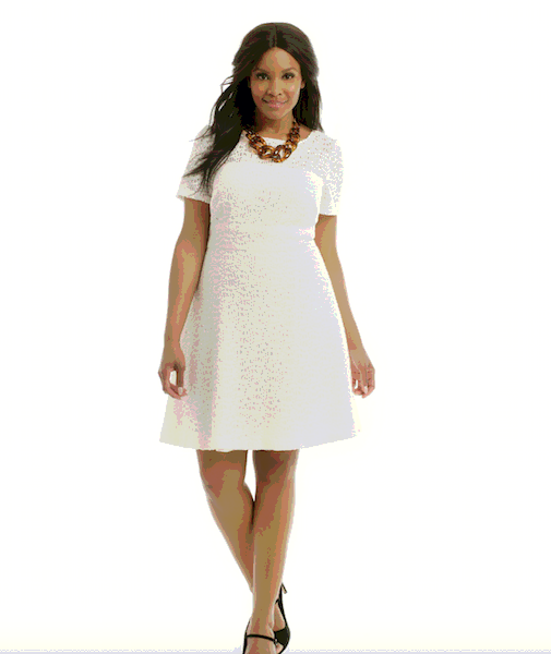 Show Stopping Little White Dresses Plus Size Latest Fashion Trend