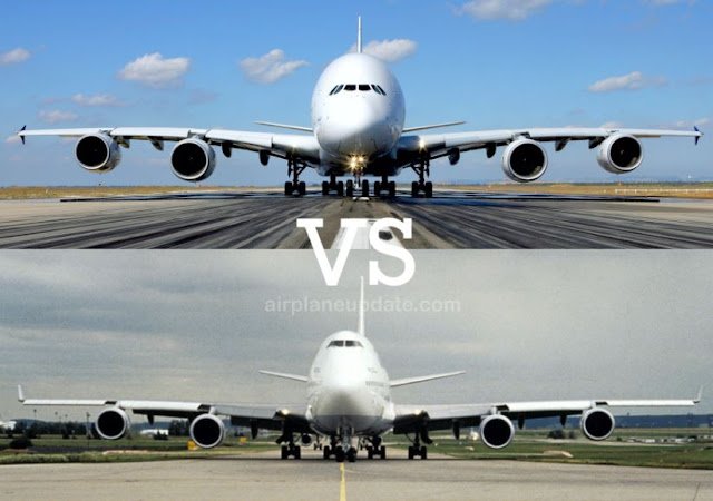 Airbus A380 vs Boeing 747-8