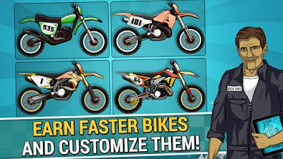 Mad Skills Motocross 2 2.3.0 APK for Android Game 2016
