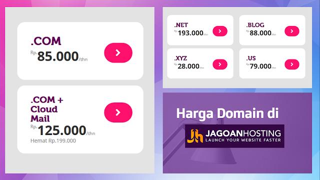Domain di Jagoanhostig.com