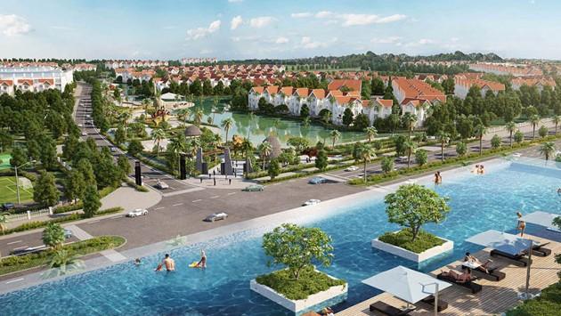 Dự án biệt thự Vinhomes Riverside giai đoạn I - II