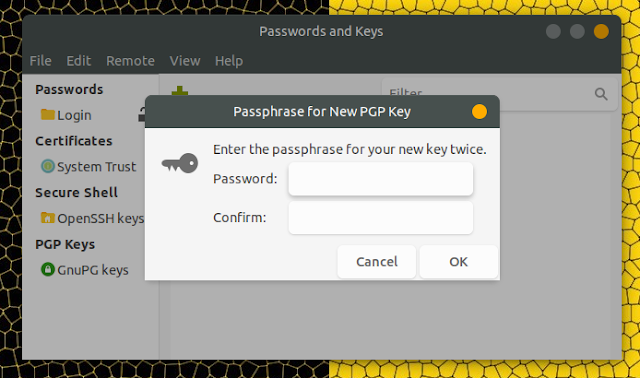 make pgp key