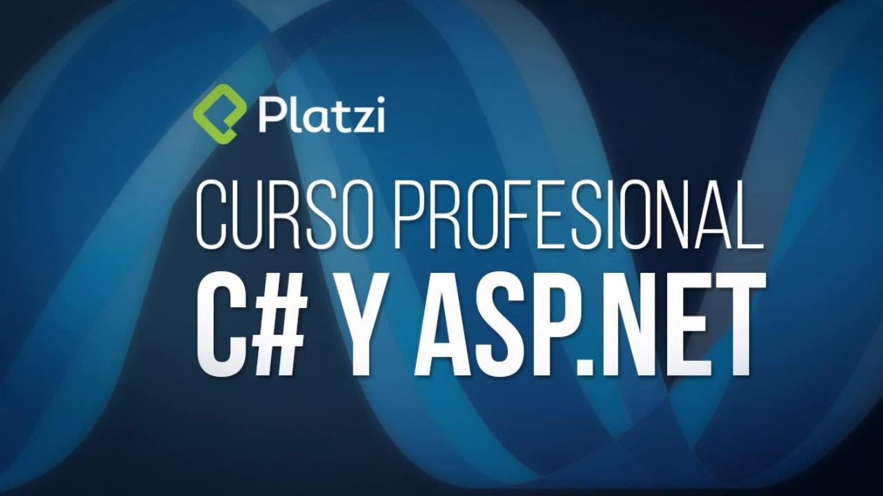 curso profesional c# y asp.net