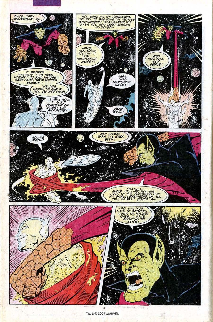 Read online Silver Surfer (1987) comic -  Issue #25 - 10