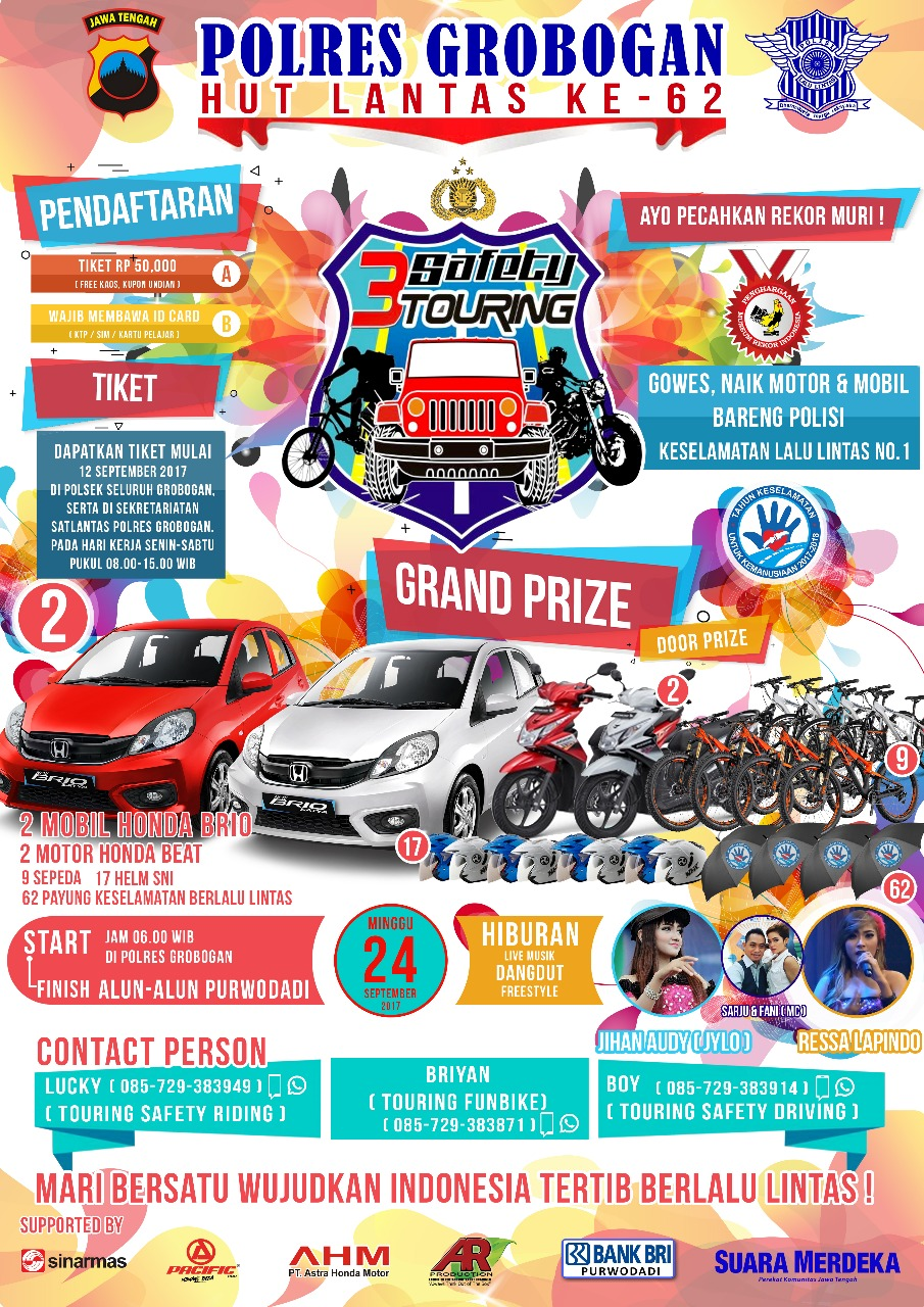Harga Jual Honda Beat Jawa Tengah Fitur All New Esp Sepeda Vario 125 Cbs Iss Vigor Black Grobogan Hadiahnya Tidak Tanggung 2 Mobil Brio Motor 9 Dan Masih Banyak Lagi Keterangan