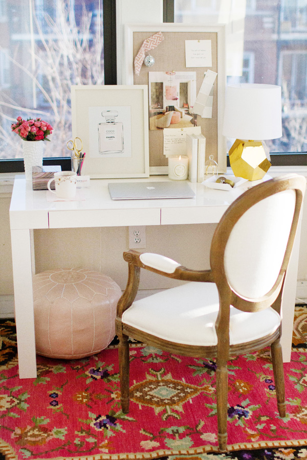 Styling Makes Me Hy The West Elm Parsons Desk Three Ways
