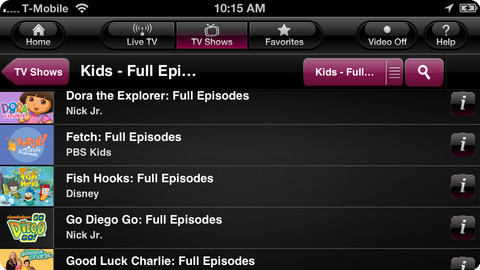 Download T-Mobile TV App With A Free Hot Channels For Your iPhone