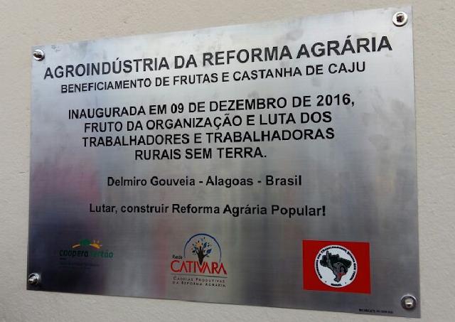 Cooperativa de produtos agropecuários do Sertão é inaugurada em Delmiro Gouveia