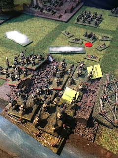 Ors is captured by British infantry