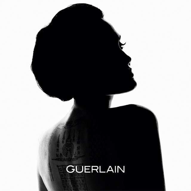 Angelina Jolie stars in the Mon Guerlain Fragrance Campaign