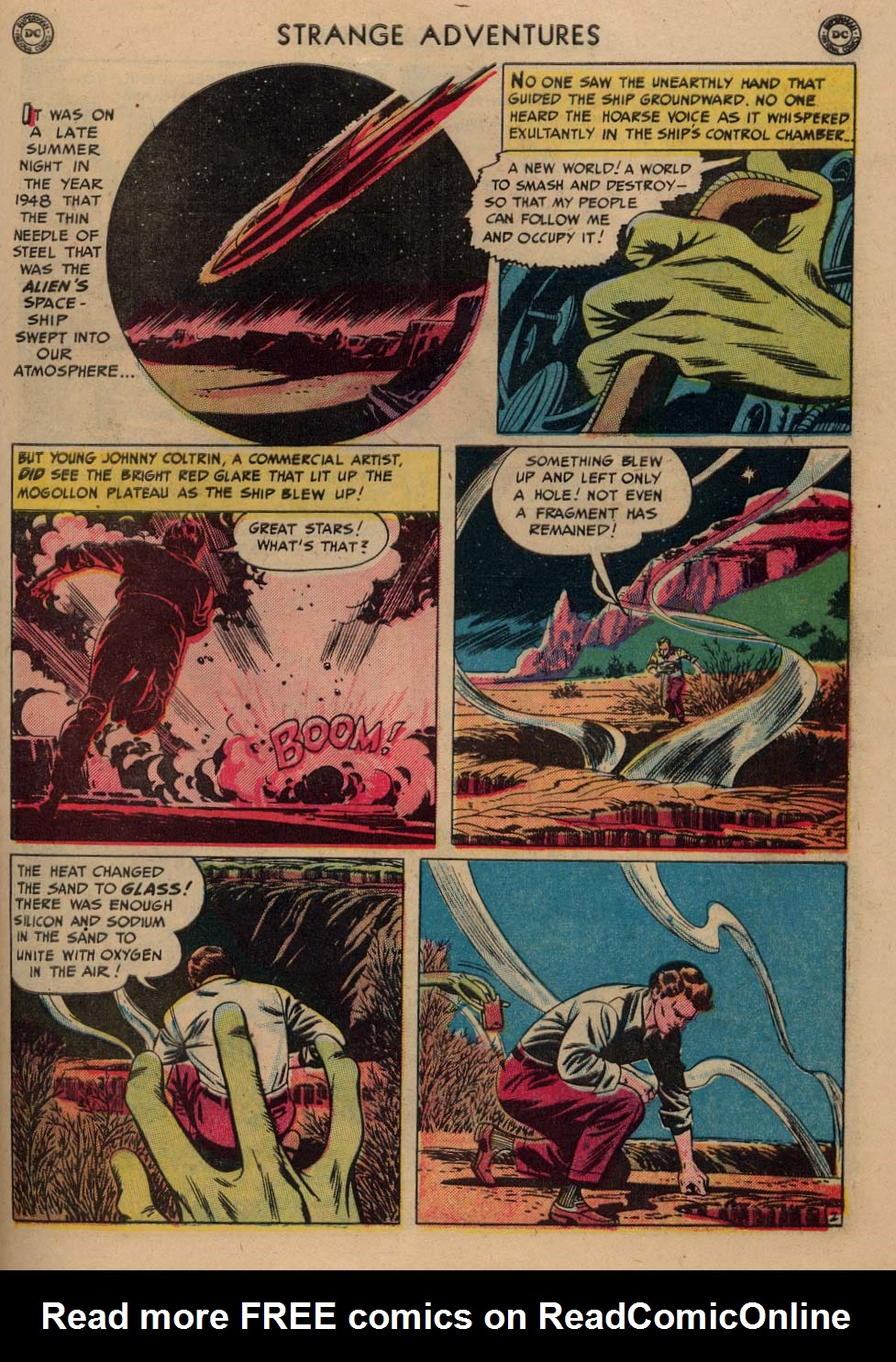 Strange Adventures (1950) issue 3 - Page 39