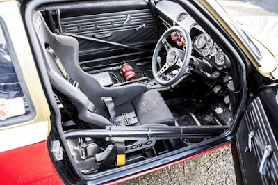 1967 Ford Escort MKI  Rally Car Interior Cabin