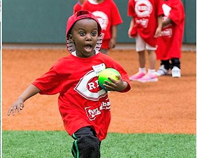 CAA Head Start Fun at Bat Program at P&G MLB Cincinnati Reds Youth Academy (Spring 2019)