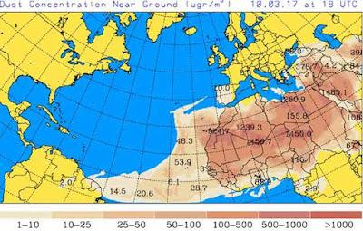 vídeo Previsión de densa calima en Canarias a partir del día 10 de marzo