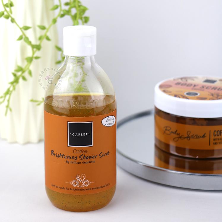 Review Scarlett Whitening Shower Scrub Coffee