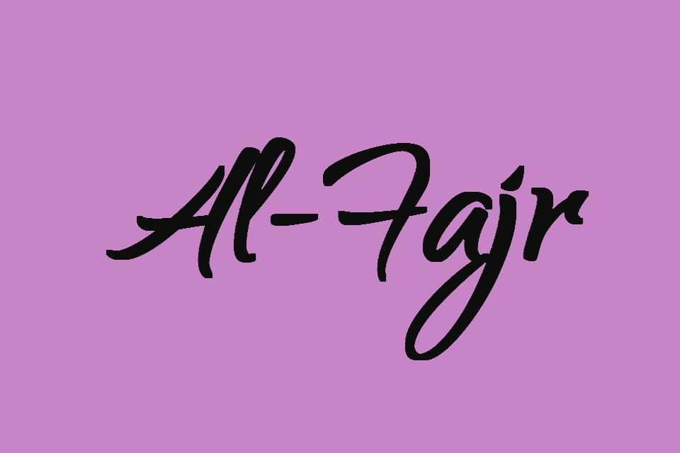 Surat Al Fajr Latin Full Ayat 1 30 Juz 30 Full