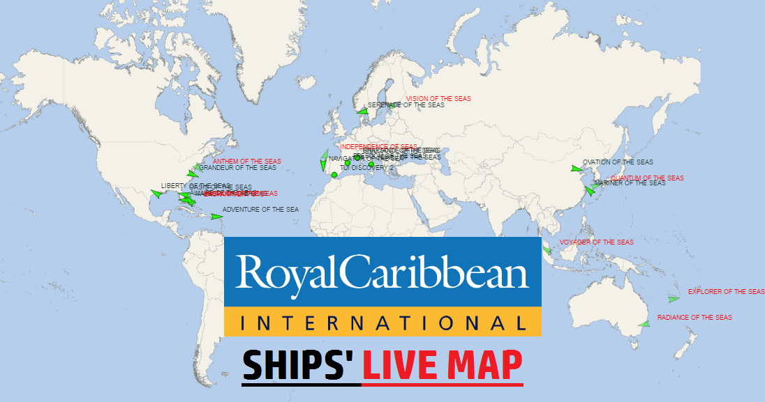 Royal Caribbean Live Map