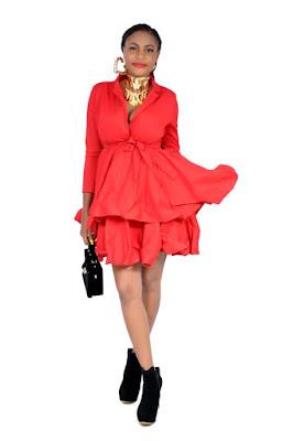Anita Egbenayaloben Dazzles In Fashion Promotional Photos