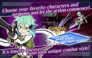 Download SWORD ART ONLINE Memory Defrag MOD APK v1.17.0 Full Hack EU NA ASIA GOD MODE for Android Gratis