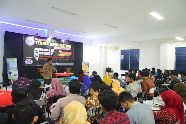 BSI Purwokerto Adakan Seminar Hacking and Security
