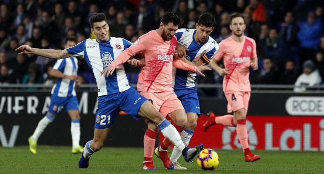 مباراة برشلونة واسبانيول 30-3-2019 الدوري الاسباني