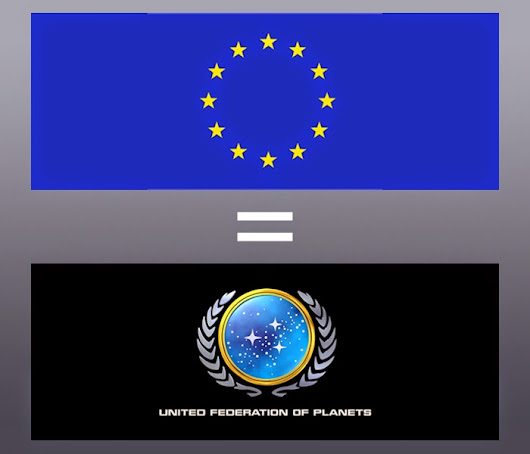 A nerd's perspective - the EU is the model for humanity's future...