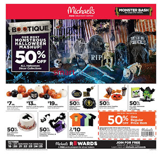 Michaels Weekly Flyer and Circulaire October 19 - 25, 2018