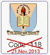 Chaudhary Charan Singh University Home Science Back paper code 118 canceled what to do