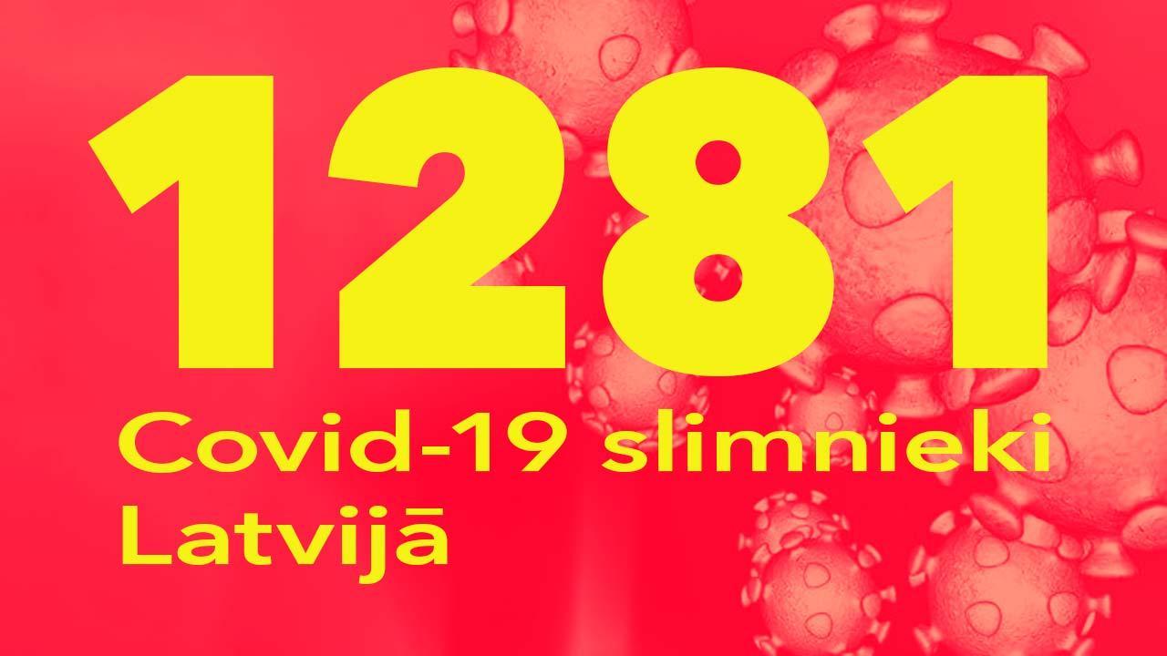 Koronavīrusa saslimušo skaits Latvijā 07.08.2020.