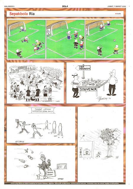 SepakbolaRia EDISI JUM'AT, 1 MARET 2002