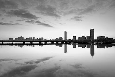Boston black and white photography,