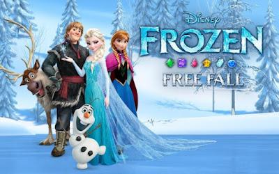 Frozen Free Fall Mod Apk
