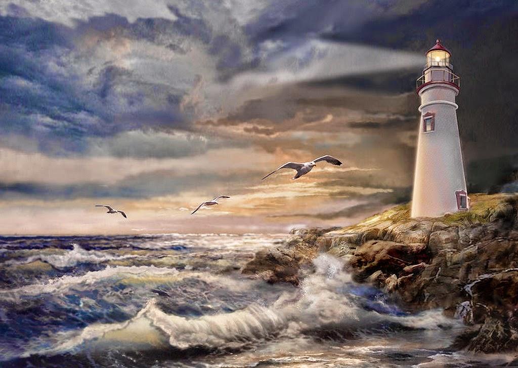 pinturas-de-paisajes-con-faros