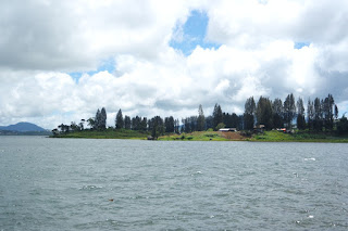danau kembar solok sumatera barat