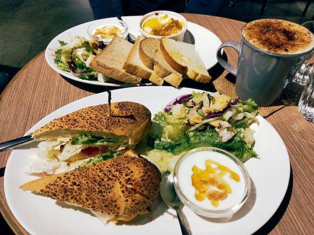 沐樂咖啡|不可錯過的文青咖啡廳 輕食早午餐新選擇|捷運忠孝新生站