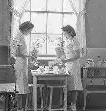 Teaching Home Economics to Daughters