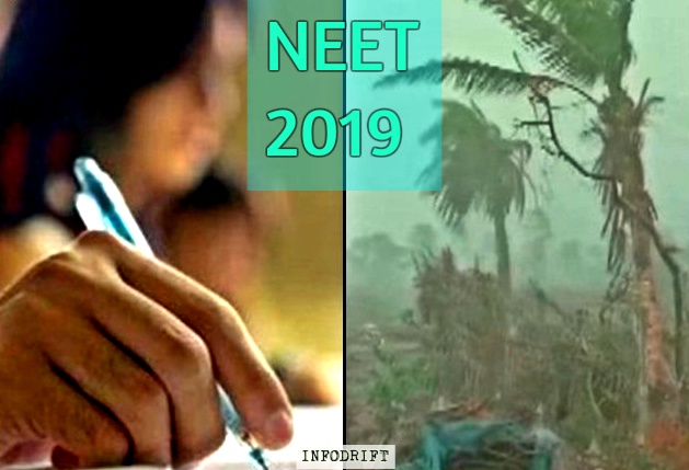 "NEET: the key exam to the doors of medical colleges scheduled to be held on 5th May, may get delayed due to the curse of ""extremely severe cyclonic storm Fani"""