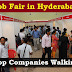Hyderabad & Other Locations Walk in Drives For Freshers/Exp