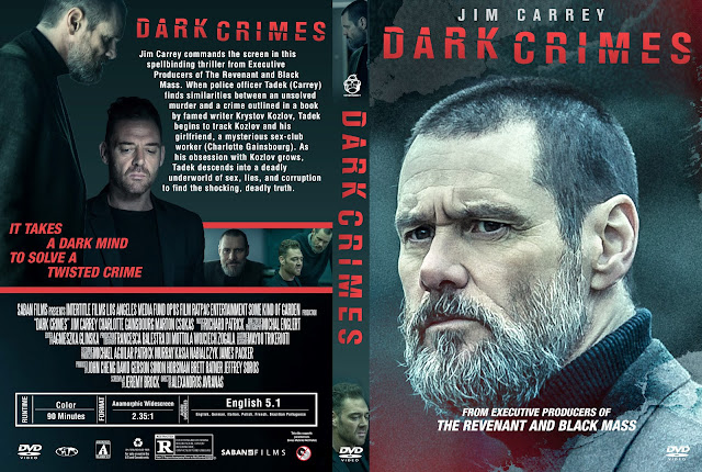 Dark Crimes DVD Cover