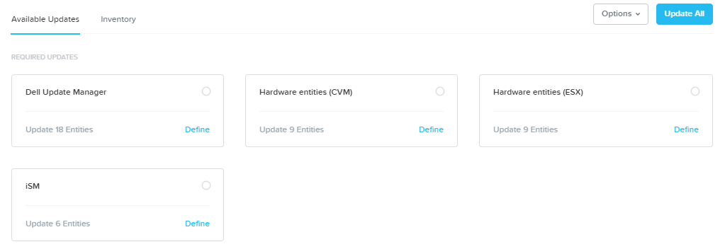 Nutanix Life Cycle Management voor Dell XC