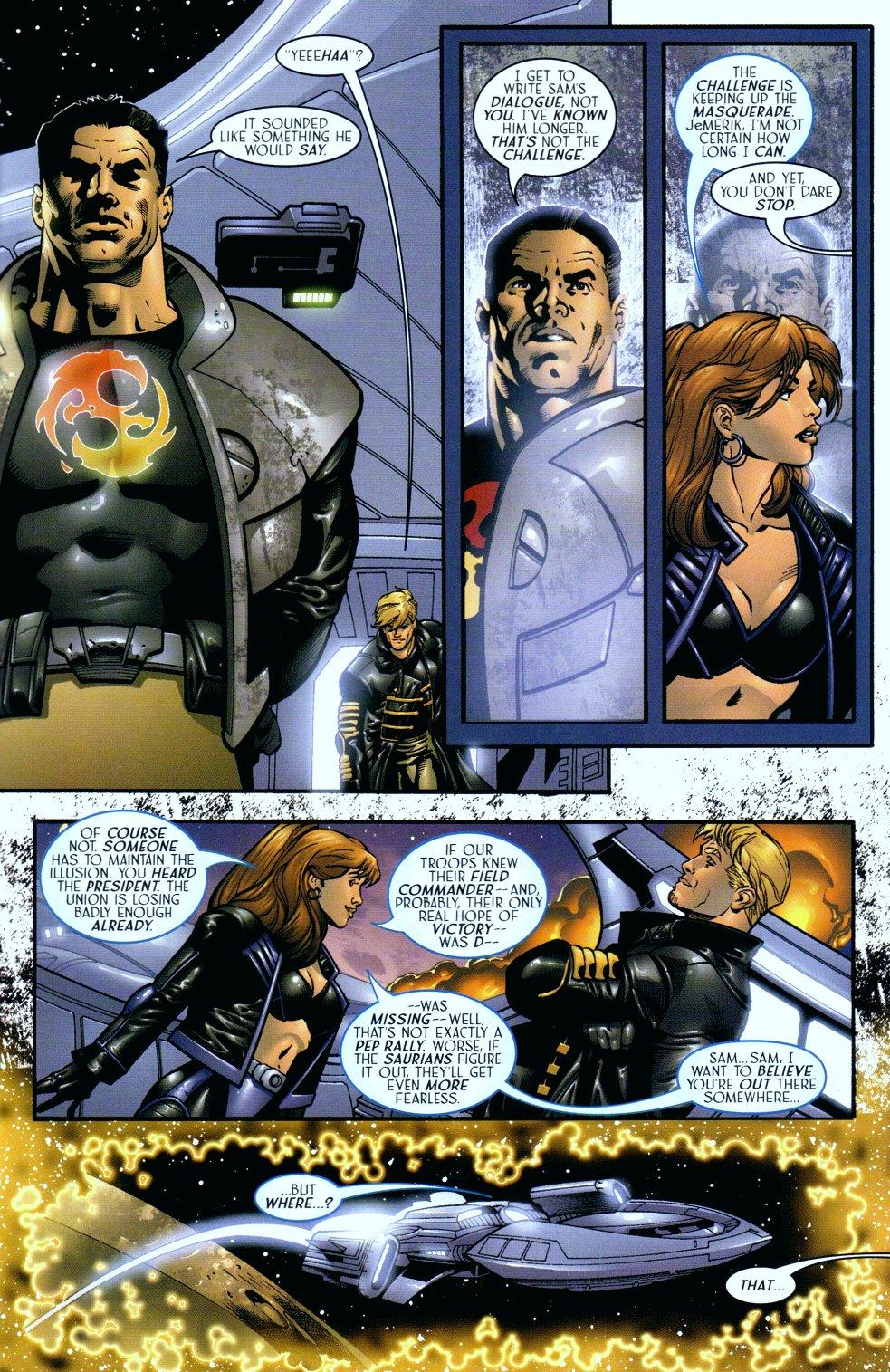 Read online Sigil (2000) comic -  Issue #18 - 6