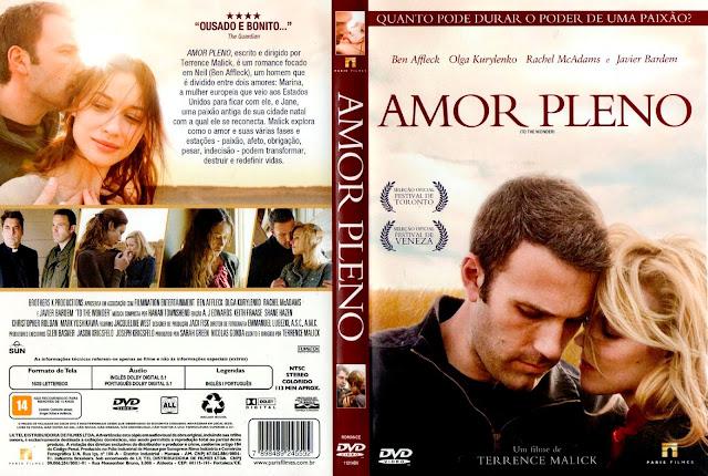 Capa DVD Amor Pleno