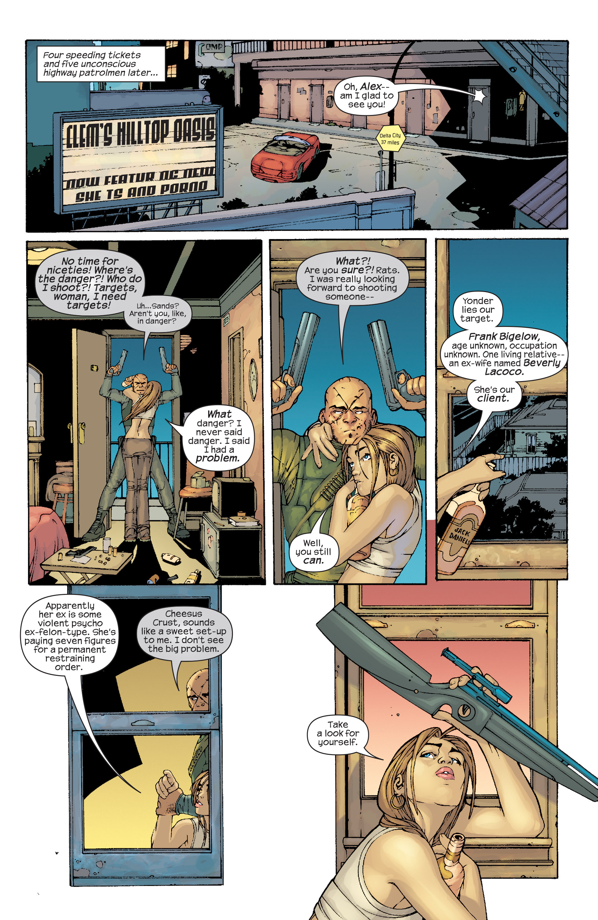 Read online Agent X comic -  Issue #10 - 8