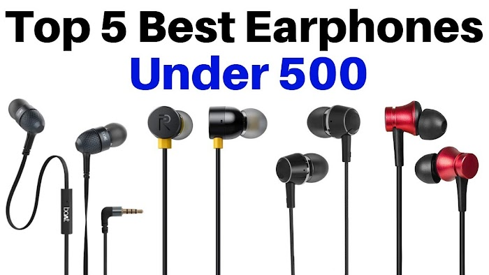 What is the best bass earphones under 500 in India?