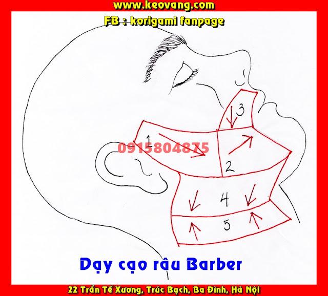 HỌC NGHỀ BARBER: KỸ THUẬT CẠO RÂU CHUYÊN NGHIỆP TIÊU CHUẨN QUỐC TẾ