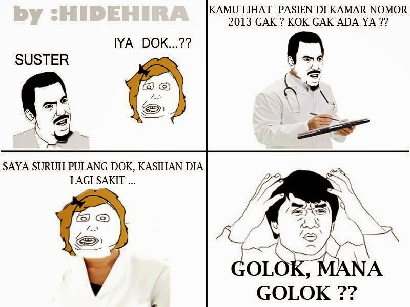 Kumpulan Foto Meme Comik Lucu Gokil Bikin Ngakak