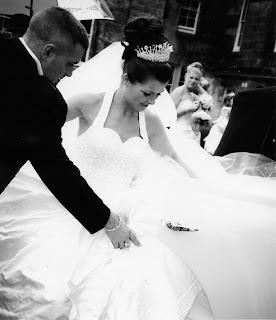hairstyle, wedding, wedding dress, High bun bridal hairstyle