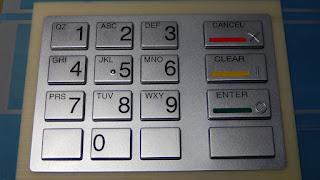 cara membetulkan PIN ATM salah ketik di ATM